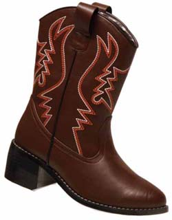 BROWN WESTERN BOOTS