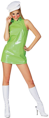 Women 50 60 70 80 Crazy Costumes La Casa Lime