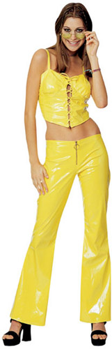 MELLOW YELLOW DISCO GIRL