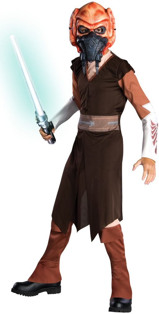 star wars clone wars child deluxe plo koon click for larger image - Clone Wars Halloween Costumes