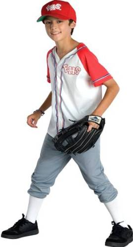 HIGH SCHOOL MUSICAL WILDCAT BOY'S BASEBALL OUTFIT