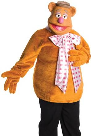 THE MUPPETS FOZZIE BEAR