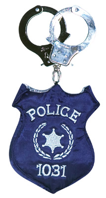 POLICE BADGE HANDBAG