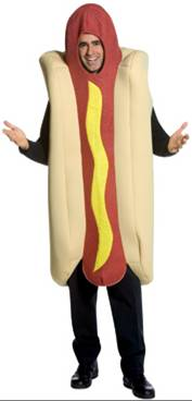 DELUXE HOT DOG COSTUME