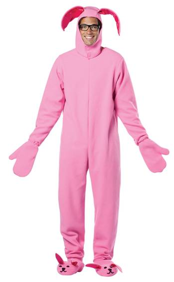 A CHRISTMAS STORY PINK BUNNY SUIT