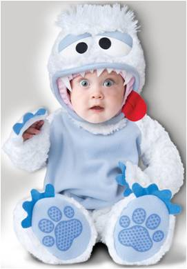DELUXE ABOMINABLE SNOWBABY FOR BABIES AND INFANTS