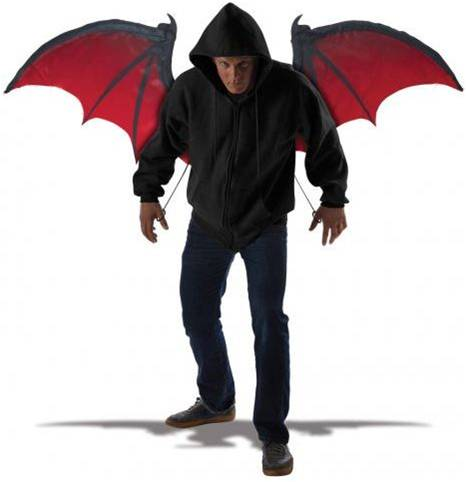 BLOODNIGHT DEMON WINGS FOR ADULTS