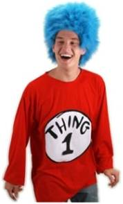 ADULT CAT IN THE HAT THING 1 COSTUME KIT