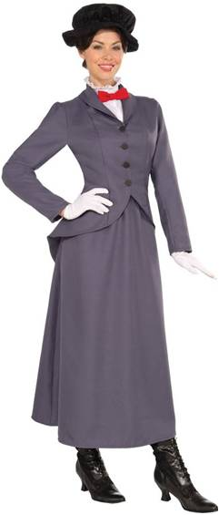 ENGLISH NANNY COSTUME FOR WOMEN