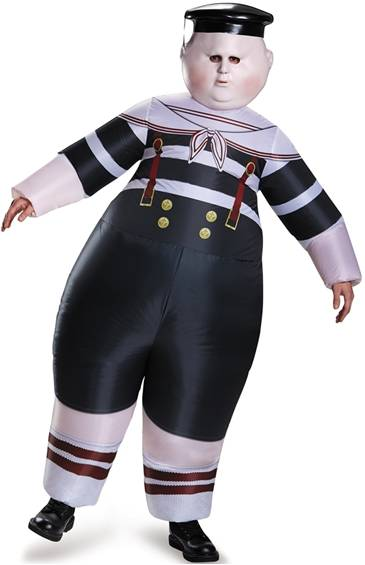 INFLATABLE TWEEDLE DEE / TWEEDLE DUM COSTUME