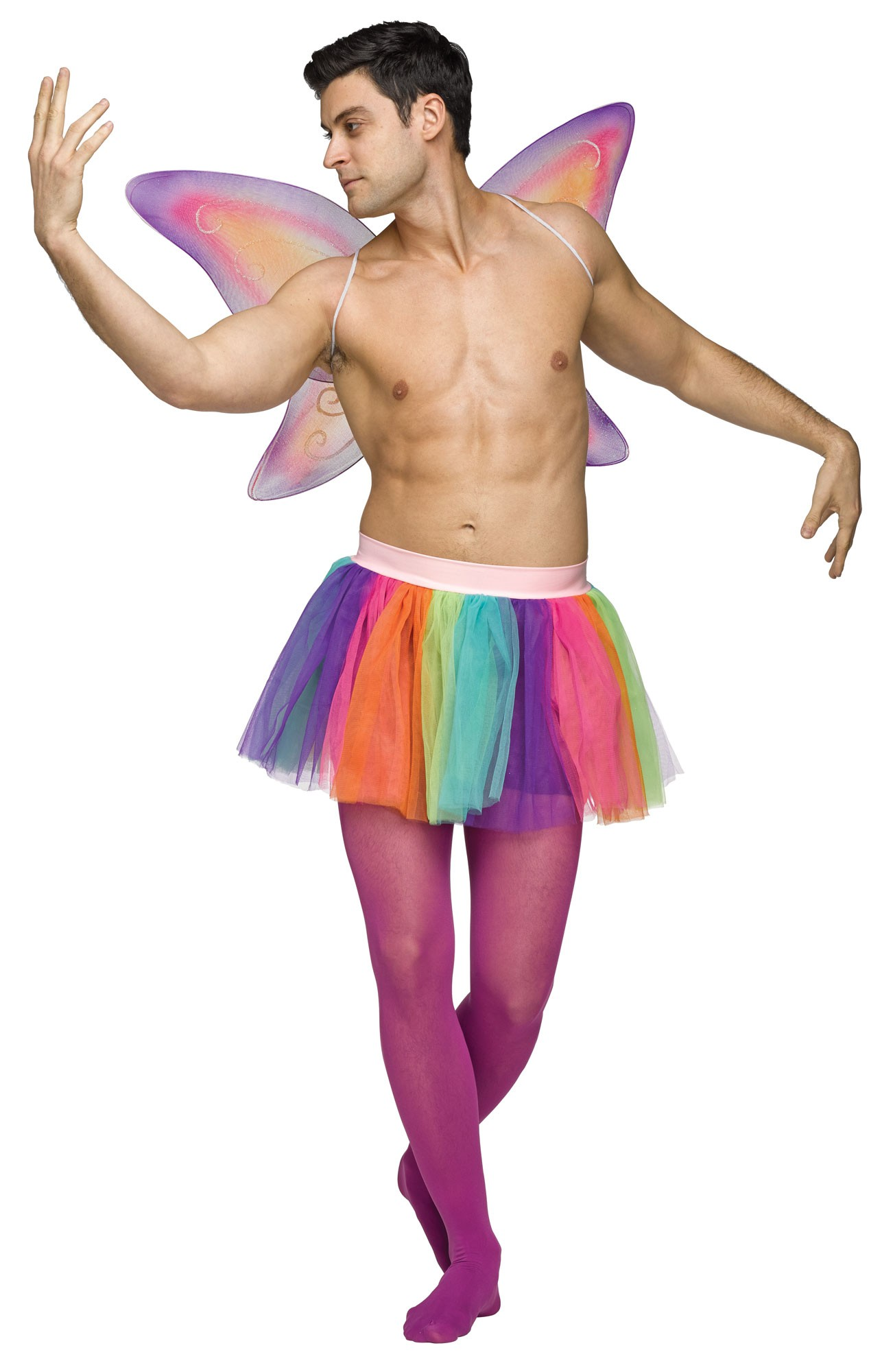 ADULT RAINBOW TUTU  sc 1 st  Crazy For Costumes : mens hippy costume  - Germanpascual.Com