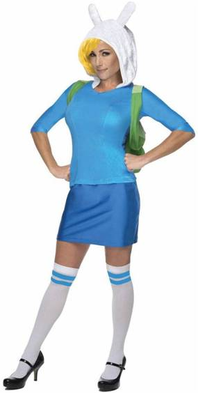 ADVENTURE TIME DELUXE FIONNA COSTUME FOR WOMEN