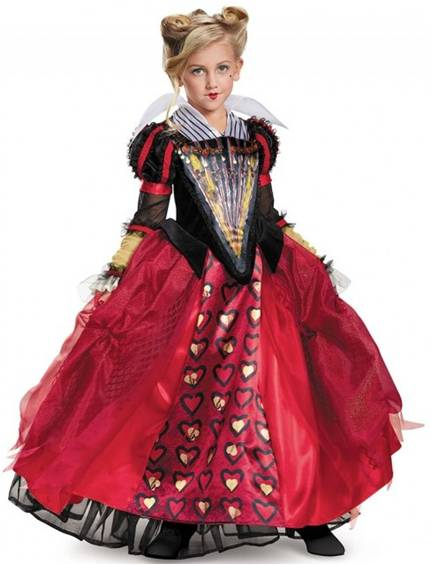 ALICE THROUGH THE LOOKING GLASS RED QUEEN COSTUME
