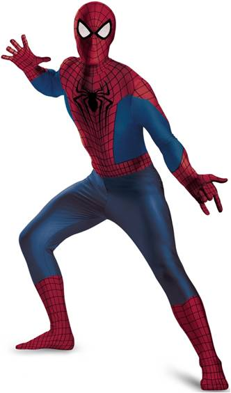 AMAZING SPIDER-MAN ZENTAI SKIN SUIT*XXL ONLY*