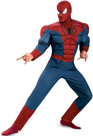 AMAZING SPIDER-MAN 2 MUSCLE TORSO COSTUME