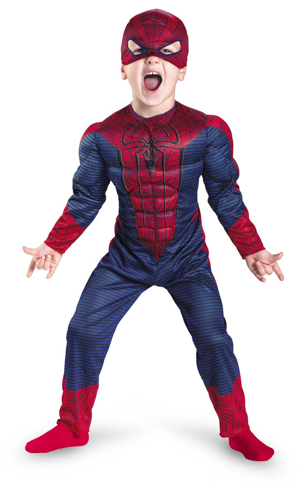 AMAZING SPIDER-MAN MUSCLE TORSO
