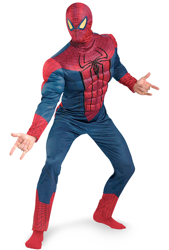 AMAZING SPIDER-MAN MUSCLE TORSO COSTUME