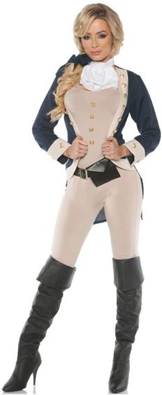 AMERICANA COLONIAL COSTUME FOR WOMEN