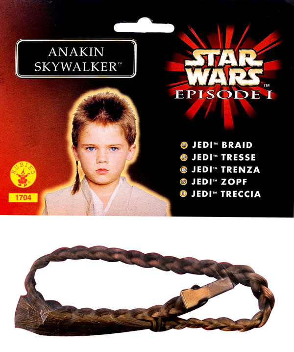 ANAKIN SKYWALKER JEDI BRAID