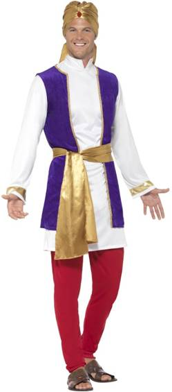 ARABIAN PRINCE COSTUME FOR MEN