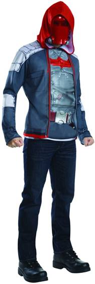 ARKHAM ASYLUM RED HOOD COSTUME FOR MEN