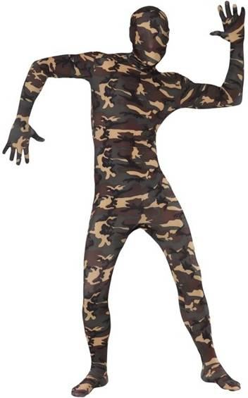 ARMY CAMOUFLAGE SKIN SUIT
