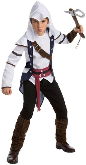 ASSASSIN'S CREED CONNOR COSTUME FOR BOYS
