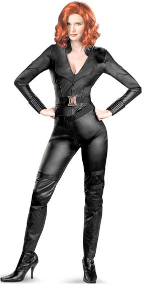 DELUXE AVENGERS BLACK WIDOW