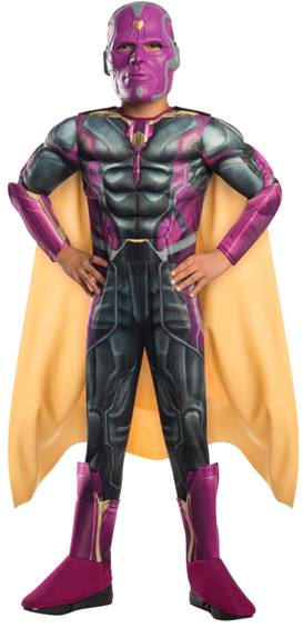 AVENGERS: AGE OF ULTRON VISION COSTUME FOR BOYS