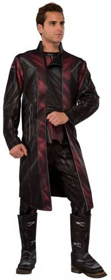 AVENGERS DELUXE HAWKEYE COSTUME FOR MEN