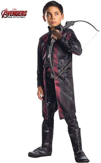 AVENGERS DELUXE HAWKEYE COSTUME FOR BOYS