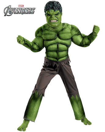 AVENGERS INCREDIBLE HULK WITH MUSCLE TORSO