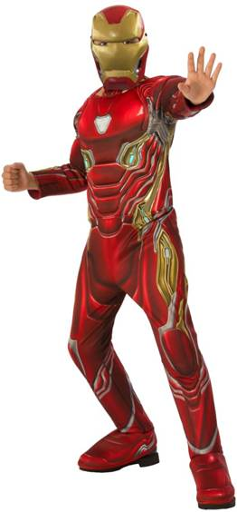 AVENGERS INFINITY WAR IRON MAN COSTUME FOR BOYS