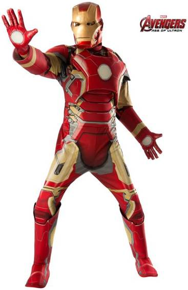 AVENGERS: AGE OF ULTRON IRON MAN COSTUME FOR MEN