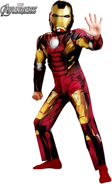 AVENGERS IRON MAN WITH MUSCLE TORSO