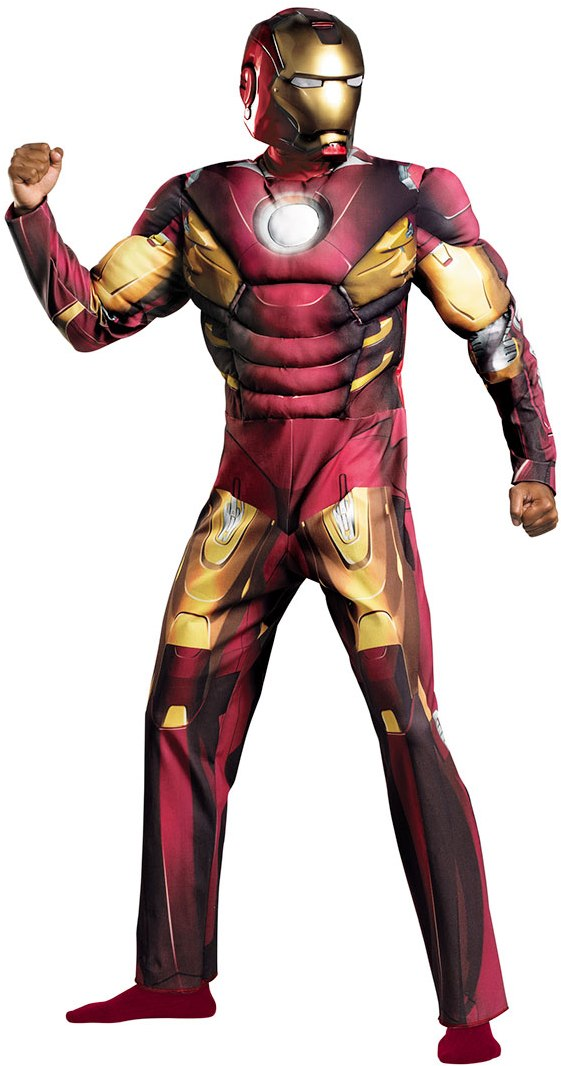 AVENGERS IRON MAN MARK VII WITH MUSCLE TORSO