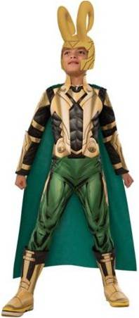 AVENGERS DELUXE LOKI COSTUME FOR BOYS