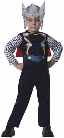THOR COSTUME FOR TODDLERS BOYS
