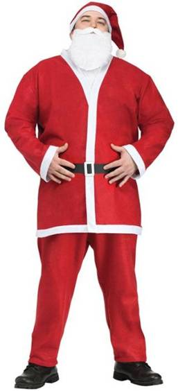 PUB CRAWL SANTA COSTUME FOR MEN