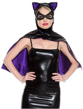 BAT COSTUME CAPE FOR WOMEN