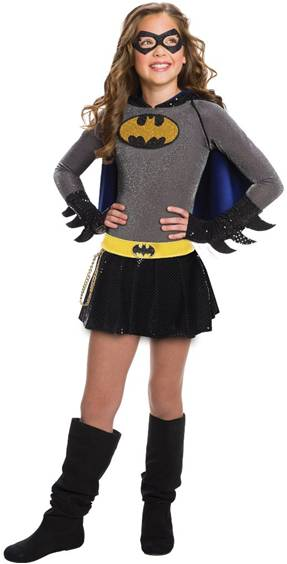 DELUXE BATGIRL COSTUME FOR GIRLS
