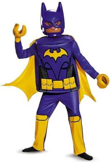 DELUXE LEGO BATGIRL COSTUME FOR GIRLS