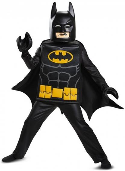 DELUXE LEGO BATMAN COSTUME FOR BOYS