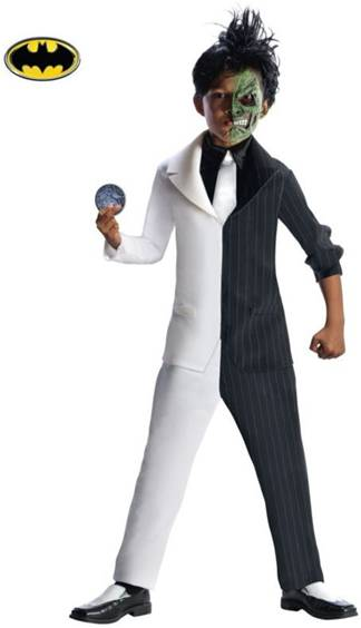 DELUXE TWO FACE COSTUME FOR BOYS