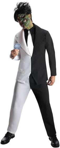 DELUXE TWO FACE COSTUME FOR MEN