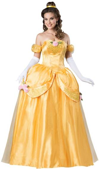 BEAUTIFUL PRINCESS BEAUTY COSTUME FOR WOMEN
