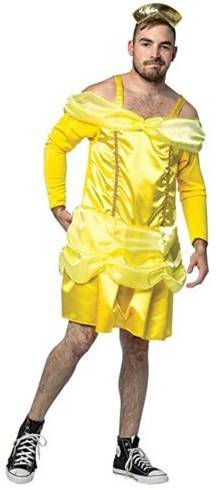 BEAUTY IS A BEAST BELLE COSTUME FOR MEN
