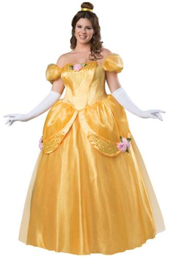 BELLE BEAUTIFUL PRINCESS COSTUME FOR WOMEN