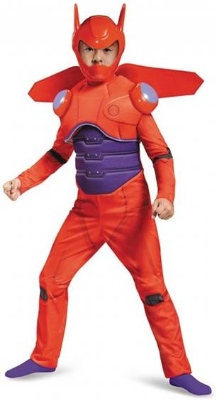 BIG HERO 6 BAYMAX COSTUME FOR BOYS