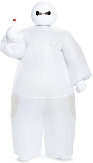 BIG HERO 6 INFLATABLE BAYMAX COSTUME FOR BOYS